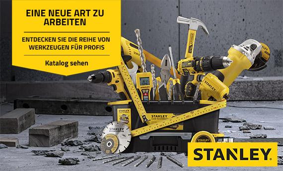 Stanley: Professionelle Werkzeuge, Werkzeugkästen und Linienlaser auf Mr. Worker erhältlich