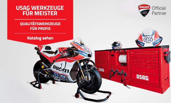 Usag: professionelle Werkzeuge, Schlüssel und Ducati Wagen auf Mr. Worker erhältlich