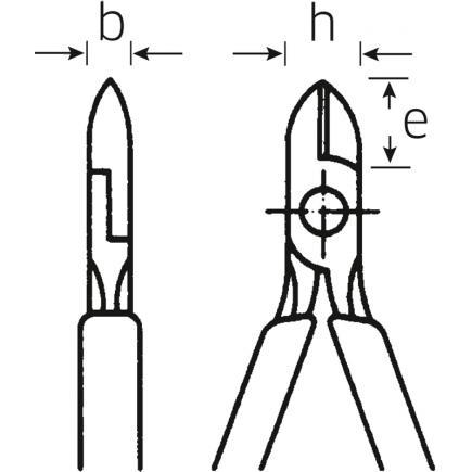 STAHLWILLE VDE side cutters standard bevel - 2