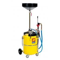 MECLUBE Air operated oil suction drainer for exhausted oil 65 l - 1