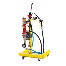 MECLUBE Wheeled aspirator with pump for drums of 50 60 l - 1