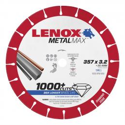 LENOX METALMAX™ cut off diamond disc, 357mm, for cropper - 1