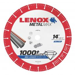 LENOX METALMAX™ cut off diamond disc, 357mm, for angle grinder - 1