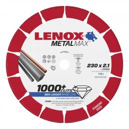 LENOX METALMAX™ cut off diamond disc, 230mm, for angle grinder - 1