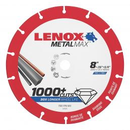 LENOX METALMAX™ cut off diamond disc, 200mm, for angle grinder - 1