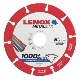 LENOX METALMAX™ cut off diamond disc, 125mm, for angle grinder - 1