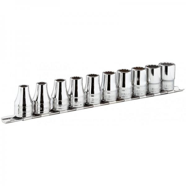 """FACOM Set of 1/2"""" sockets – 6 pieces: from 11/16"""" to 1"""" - 1"""