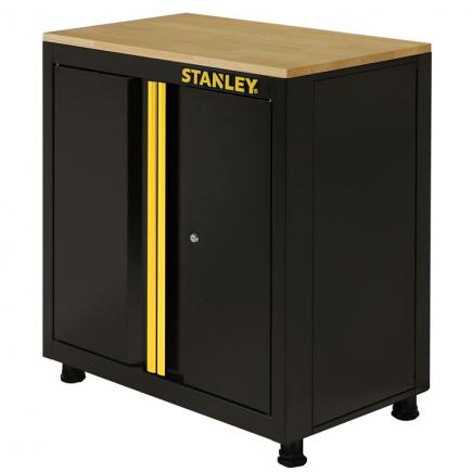 STANLEY Low cabinet with 2 doors with feet - 1
