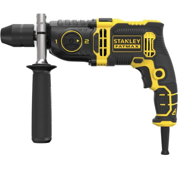 STANLEY Percussion drill 850w - 2 speeds - 1
