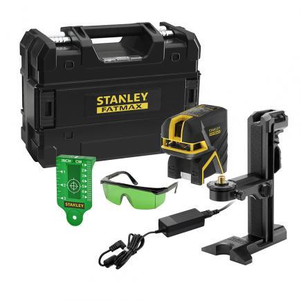 STANLEY SCG-P5 Fatmax Cross/ 5 Spot Laser Li-Ion - Green - 1