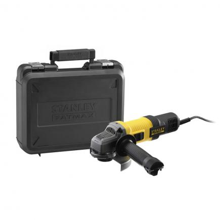STANLEY Angle Grinder 850w 125mm with case - 1