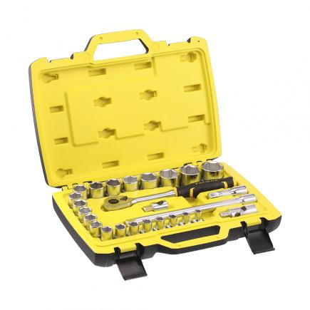 "STANLEY Set 26 pcs Fatmax® socket wrench - 1/2"" - 1"