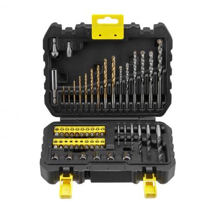 STANLEY Set of 50 bits/drills - 1