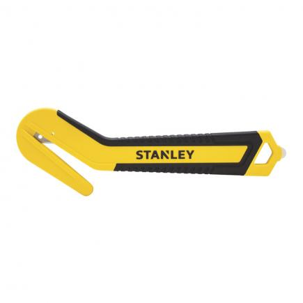 STANLEY Bi-material disposable safety knife - round tip - 1
