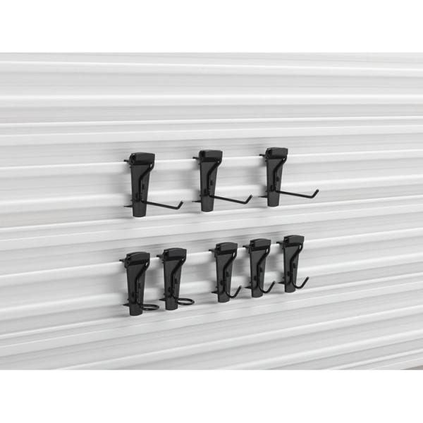 STANLEY Track Wall kit 8 small hooks in steel - 1