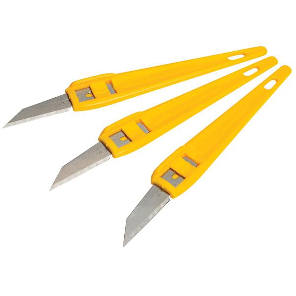 STANLEY Multi-purpose knife - 3 pieces - 1