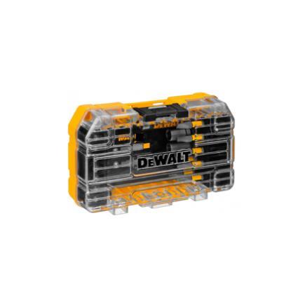 DeWALT Set 19 metal-wood-plastic tips Black & Gold triangular shank (5 pcs) - 1