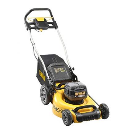 DeWALT XR 18Vx2 lawnmower without batteries and battery charger - 1