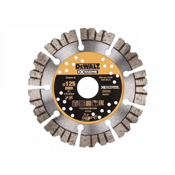 DeWALT Extreme Runtime 125mm Diamond Blade For Wall Chaser - 1