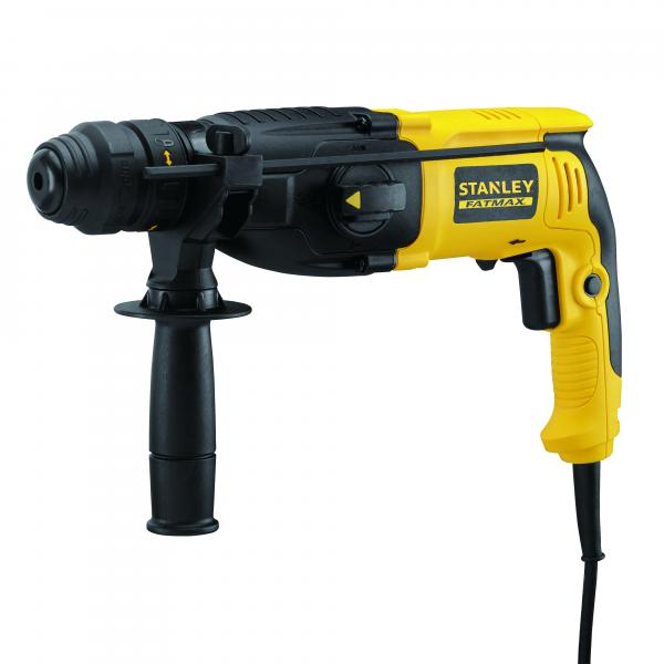 STANLEY SDW-PLUS 800W rotary hammer with 13MM extra spindle - 1
