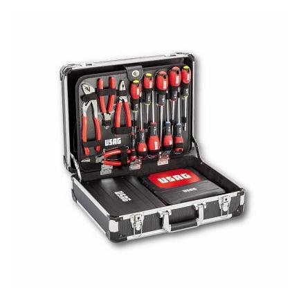 USAG CASE WITH ASSORTMENT FOR MAINTENANCE, INCH SIZES (174 PCS.) - 1