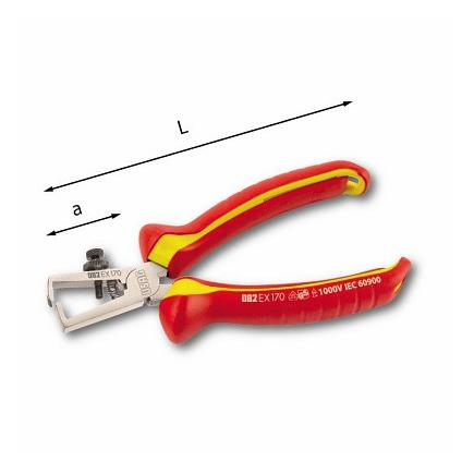 USAG WIRE STRIPPERS - 1000 V - 1