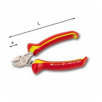 USAG DIAGONAL CUTTING NIPPERS - 1000 V - 1