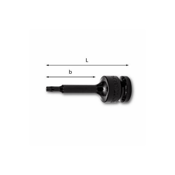 USAG LONG IMPACT SOCKET BITS FOR TORX® SCREWS - 1