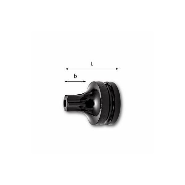 USAG LONG IMPACT SOCKET BITS FOR TORX® TAMPER RESISTANT SCREWS - 1