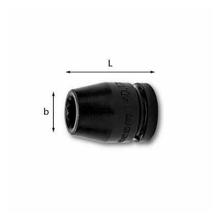 USAG IMPACT BIHEXAGONAL SOCKETS - 1