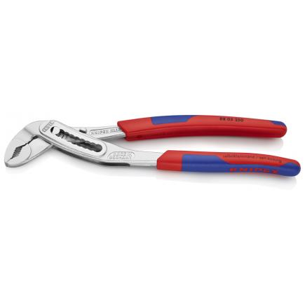 KNIPEX Alligator® Water Pump Pliers chrome plated, handles with slim multi-component grips - 1