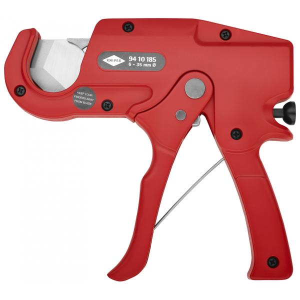 KNIPEX Pipe Cutter for plastic conduit pipes (electrical installation work) - 1