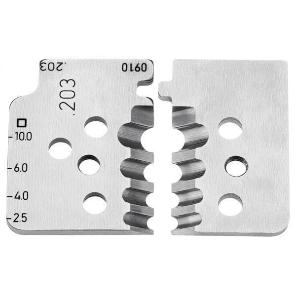 KNIPEX 1 set of spare blades for 12 12 10 - 1