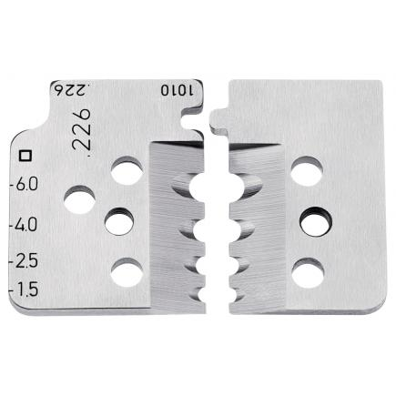 KNIPEX 1 set of spare blades for 12 12 11 - 1