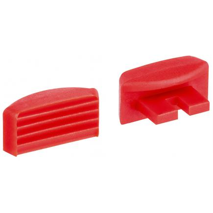 KNIPEX 1 pair of spare clamping jaws for 12 40 200 - 3