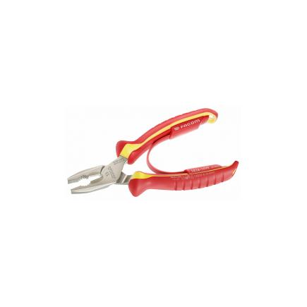 FACOM 1,000 Volt insulated combination pliers - 1