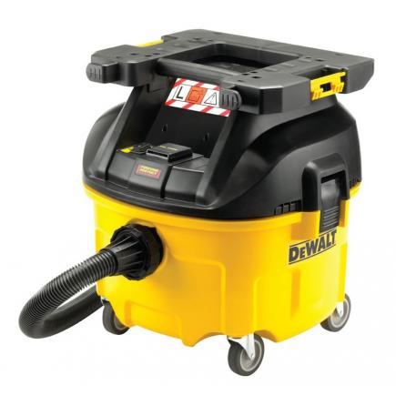 Dewalt Dust Extractor >> Dewalt Dwv901lt Qs Construction Dust Extractor 1400w L Class Tstak