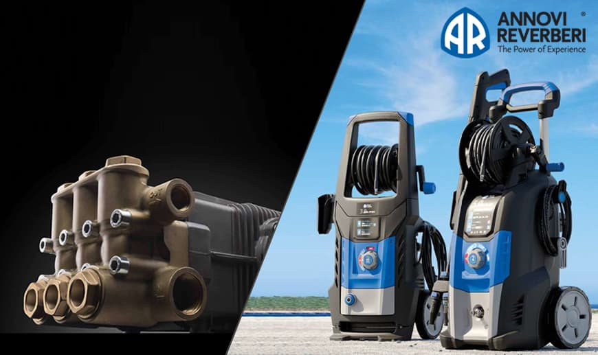 Annovi Reverberi: pressure washers and piston pumps Available on Mister Worker