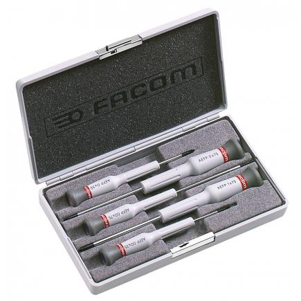 FACOM Micro-Tech® 5-piece screwdriver set Phillips® - 1