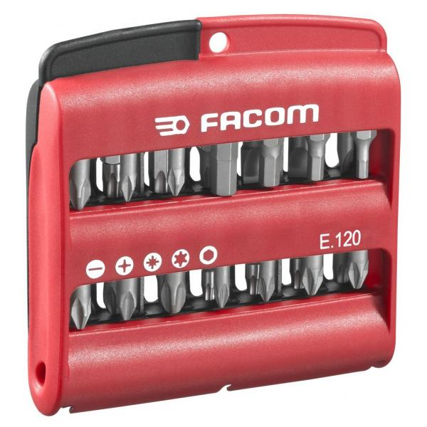 FACOM Combined set of 28 High Perf' series 1 bits + bit holder - 1