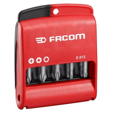 "FACOM Set of 10 bits 1/4"" - 50 mm - 1"