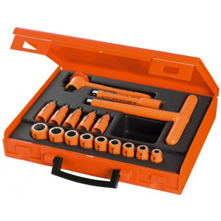 FACOM Set of 17 VSE series 1,000 Volt insulated tools - 1