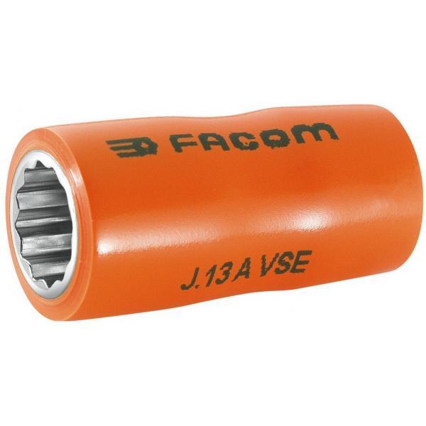 "FACOM J.AVSE - VSE series 1,000 Volt insulated 12-point 3/8"" sockets - 1"