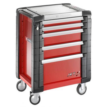FACOM JET+ 5-drawer roller cabinets - 3 modules per drawer - 1