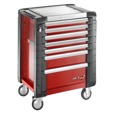 FACOM JET+ 7-drawer roller cabinets - 3 modules per drawer - 1