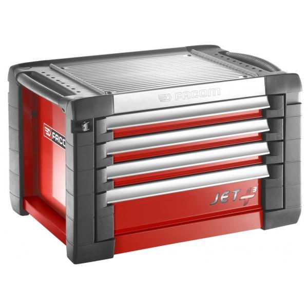 FACOM JET+ 4-drawer chest - 3 modules per drawer - 1