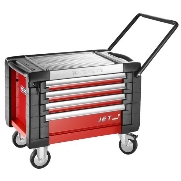 FACOM JET+ 4-drawer mobile workbenches - 3 modules per drawer - 1