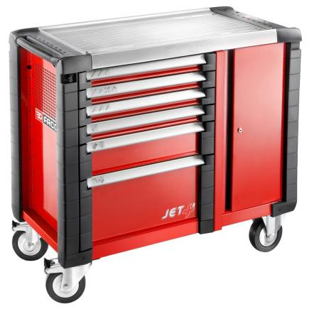 FACOM Jet+ 6-drawer mobile workbenches - 3 modules per drawer - 1