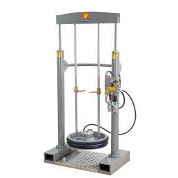 MECLUBE Frame lifter press for barrels 180 220 kg shank Ø 30 mm - 1