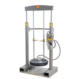 MECLUBE Frame lifter press for barrels 180 220 kg shank Ø 45 mm - 1